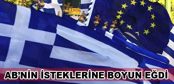 Yunanistan tasarruf tedbirlerinde uzlaştı