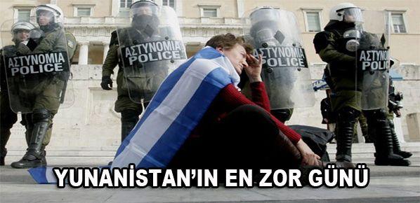 Yunanistan'da acı reçete oylanacak