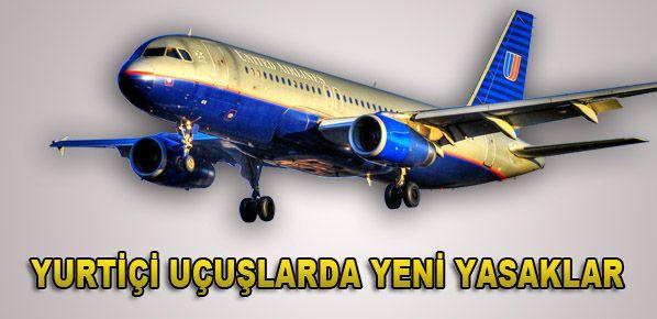 Yurtiçi uçuşlarda yeni düzenleme
