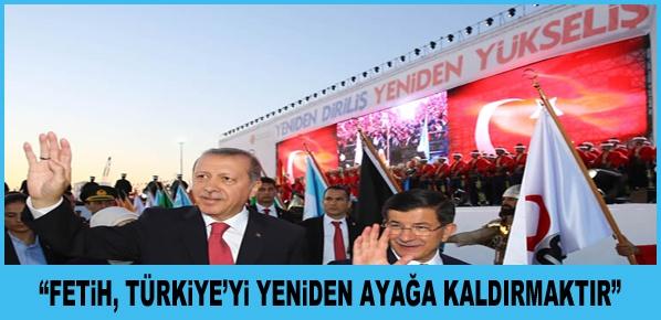 """Cumhurbaşkanı Erdoğan,  """"ZAFER KORKAKLARIN İŞİ DEĞİLDİR"""""""