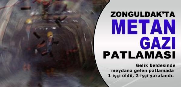Zonguldak'ta metan gazı patlaması: 1 ölü, 5 yaralı