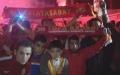 Galatasaray taraftarları Metin Oktay Tesisleri'ne akın etti