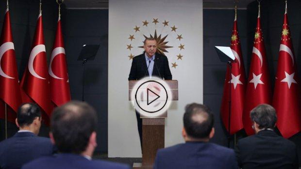 Erdoğan yeni corona virüs tedbir paketini açıkladı
